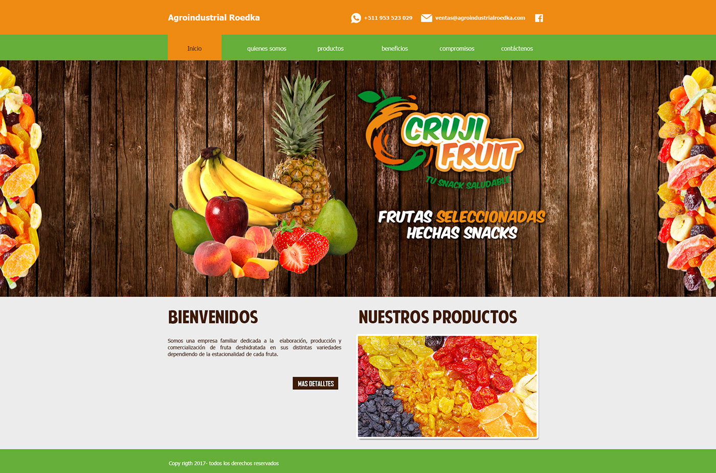 Web Crujifruit